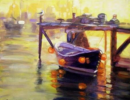 Evening Gold by Elena Sokolova