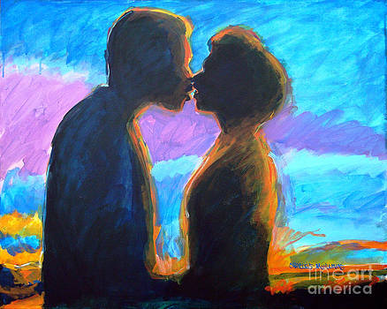 Evening Kiss by Charles M Williams