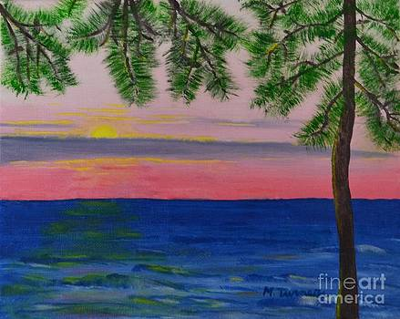 Evening on Mobile Bay by Melvin Turner