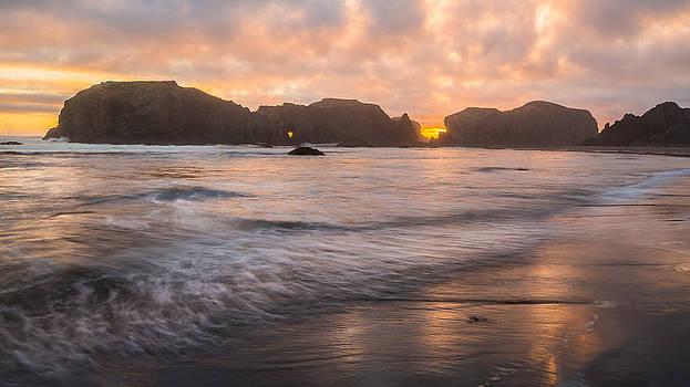 Evening Paradise by Anthony J Wright