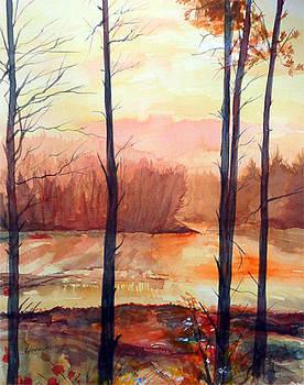 Evening rays  by Gourav Sheode