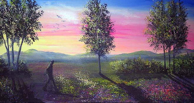 Evening Shadows by Ann Marie Bone