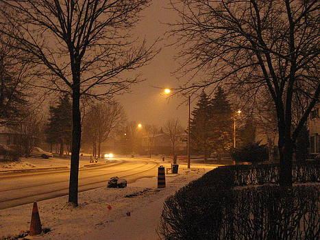 Alfred Ng - evening snow