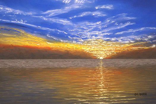 Evening Splash by George Burr