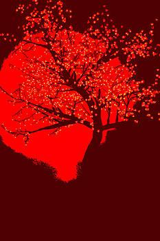 Evening Tree by Charles Benavidez