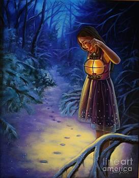 Evenings Glow by Hillary Scott
