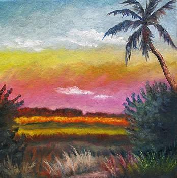 Everglades at Dusk by Eve  Wheeler