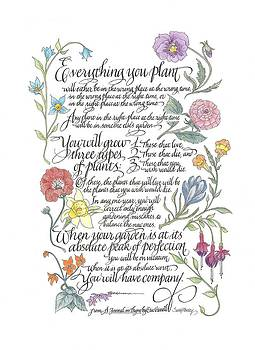 Everything You Plant by Sally Penley