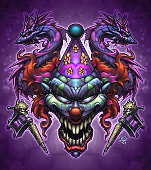Evil Clown by David Bollt
