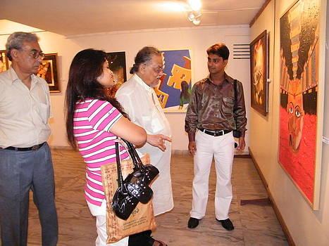 Exhibition by Biswajit Dutta