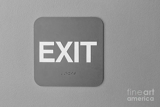 Exit Sign by Terry Ellis