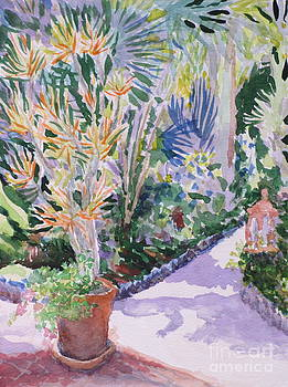 Exotic Garden 1 by Bernice Grundy