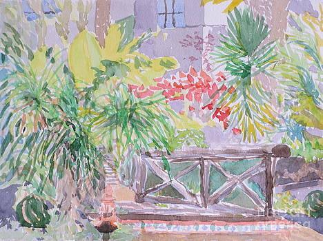 Exotic Garden 2 by Bernice Grundy