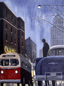 Express Downtown by Dave Rheaume