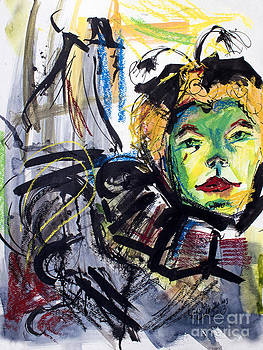 Ginette Fine Art LLC Ginette Callaway - Expressive Homage to Henri De Toulouse-Lautrec At The Moulin Rouge