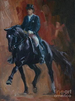 Extended Trot by Lisa Phillips Owens