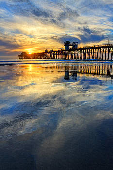 Extreme Low Tide Reflections  by Donna Pagakis