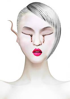 Eye and Zipper by Yosi Cupano