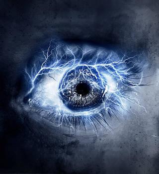 Eye Elements Lightning by Ricky Sandoval
