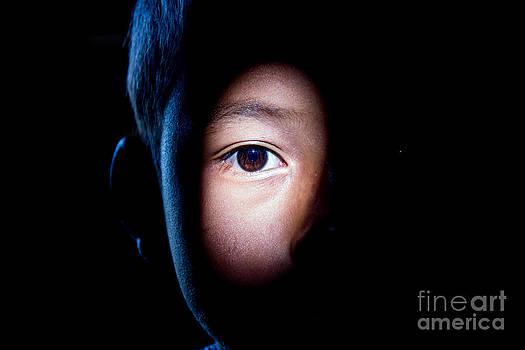 Half of face by Frederiko Ratu Kedang