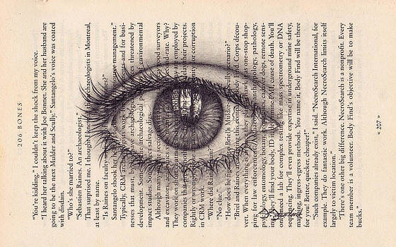 Eye in a Book by Sarah Sutherland