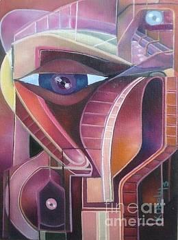 Eye Of Adeity  by Kenneth Otelu