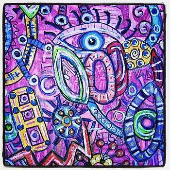 Eye Piece In Progress by Susan Sorrell