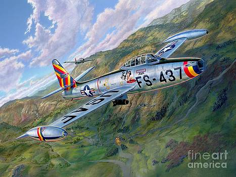 Stu Shepherd - F-84 Thunderjet Over Korea