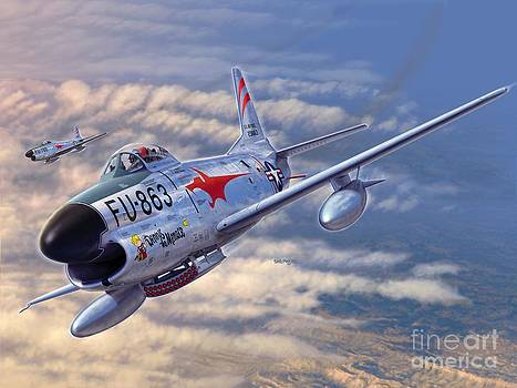 Stu Shepherd - F-86D All Weather Menace