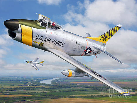 Stu Shepherd - F-86L of the 82nd FIS