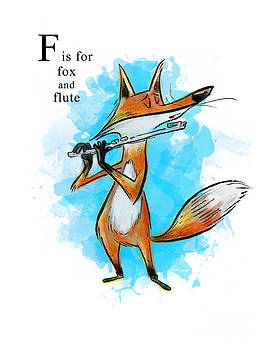 F is for Fox by Sean Hagan
