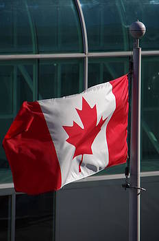 Marilyn Wilson - Canadian Flag