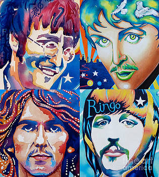 Fab four by Debbie  Diamond