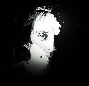 Face 2 Under Black Light by Michael Ezerzer