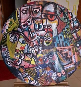 Faces  by Mona  El Rubi