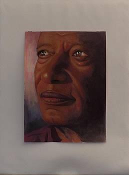 Facial Portrait Study by Samuel Daffa