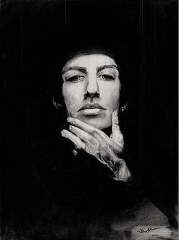Fade to Black Self Portrait by Chuy Hartman