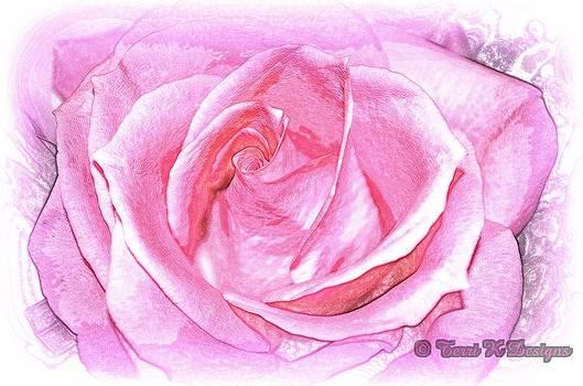 Faded Rose by Terri K Designs