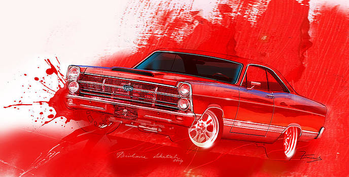 Fairlane Art by Fred Otene