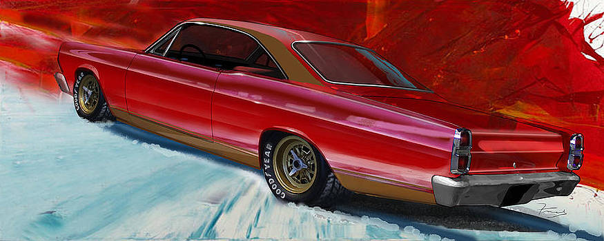 Fairlane at SEMA by Fred Otene