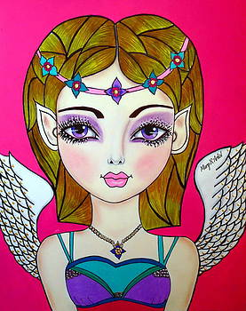 Fairy Angel by Maria  RUIZ