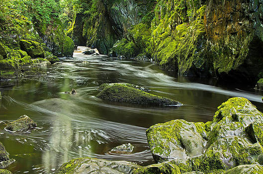 Fairy Glen in Wales by Pete Hemington