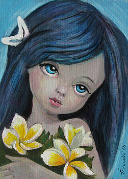 Fairy Plumeria by Temenuga Ivanova