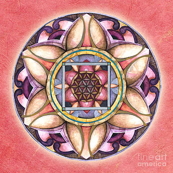 Faith Mandala by Jo Thomas Blaine