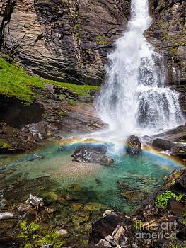 Silvia Ganora - Fall and rainbow