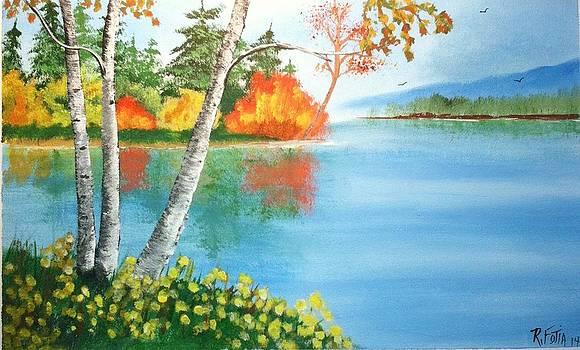 Fall Birches by Rich Fotia
