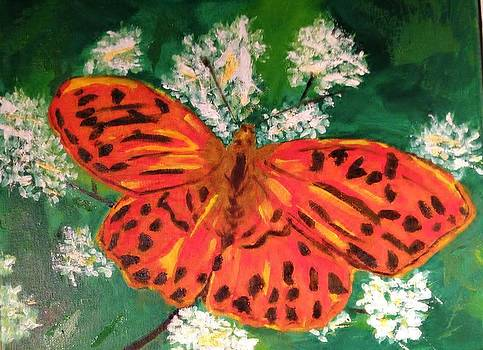 Fall Butterfly by Cindy Lawson-Kester