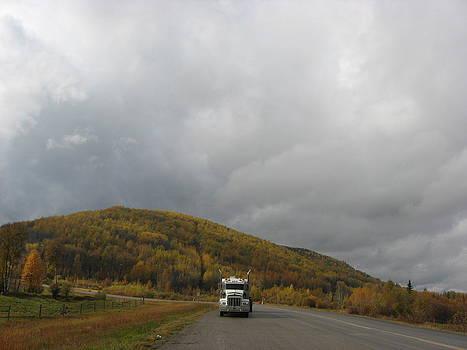 Fall Clouds by Gordon Wunsch