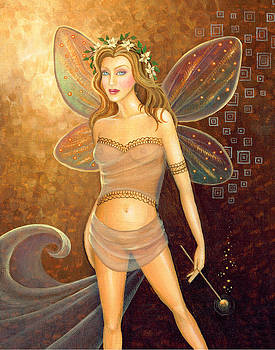 Fall Fairy by B K Lusk