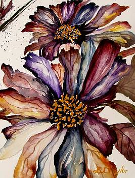 Fall Flower Colors  by Lil Taylor